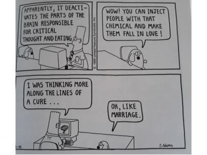 Dilbert book: Always Postpone Meetings with Time-Wasting