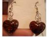 *REDUCED* Brand New Heart Earrings - Iridescent!