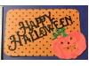 Happy Halloween with Pumpkin Die cut
